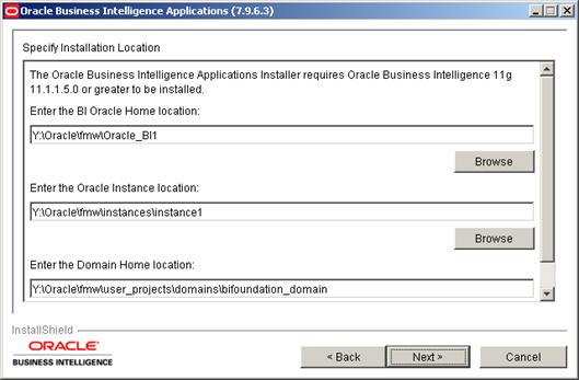 Installing Oracle BI Apps 7.9.6.3 (2/6)