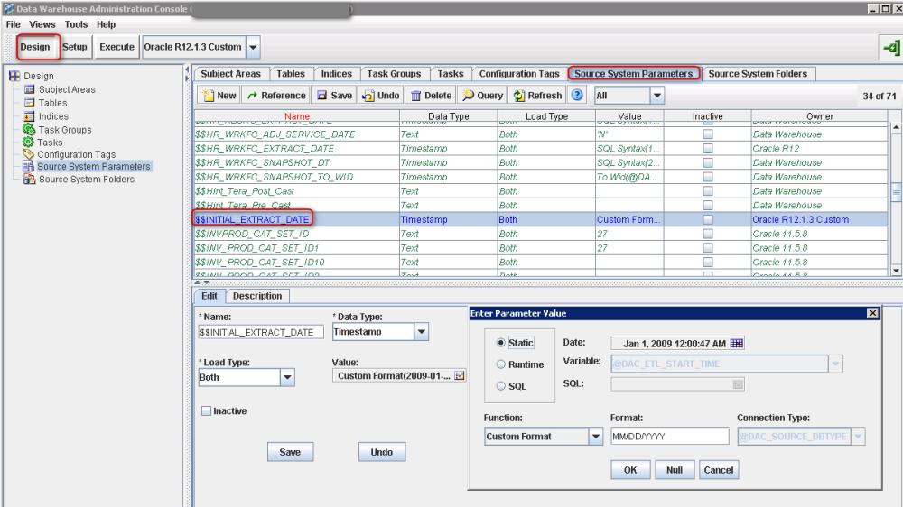 Oracle BIA - Making the Full / Incremental Load work (6/6)