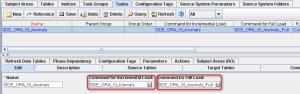 DAC - Task - SDE_ORA_GL_Journals