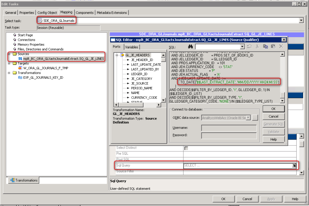 Oracle BIA - Making the Full / Incremental Load work (4/6)
