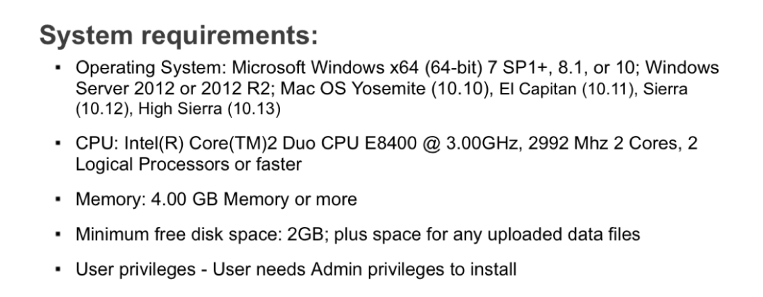Oracle DVD4 System Requirements