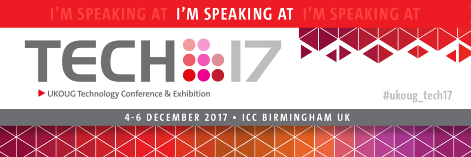 UKOUG Tech17 is a wrap