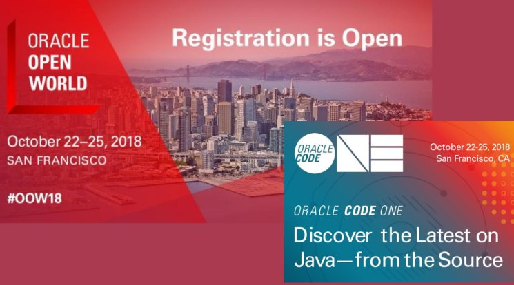 Amis Oracle OpenWorld and CodeOne review